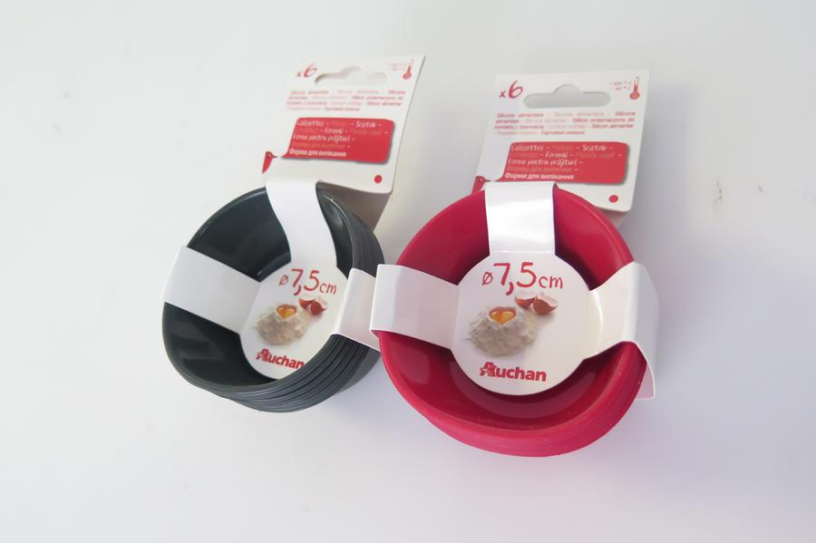 MOULE SILICONE MUFFINS X6