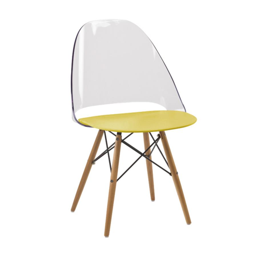 Morel ajc grossiste importateur destockage lots deco - Chaise jaune moutarde ...