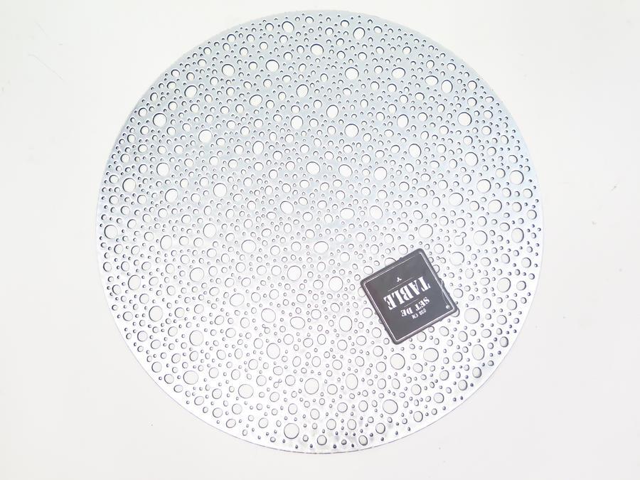 SET DE TABLE ROND EN PVC