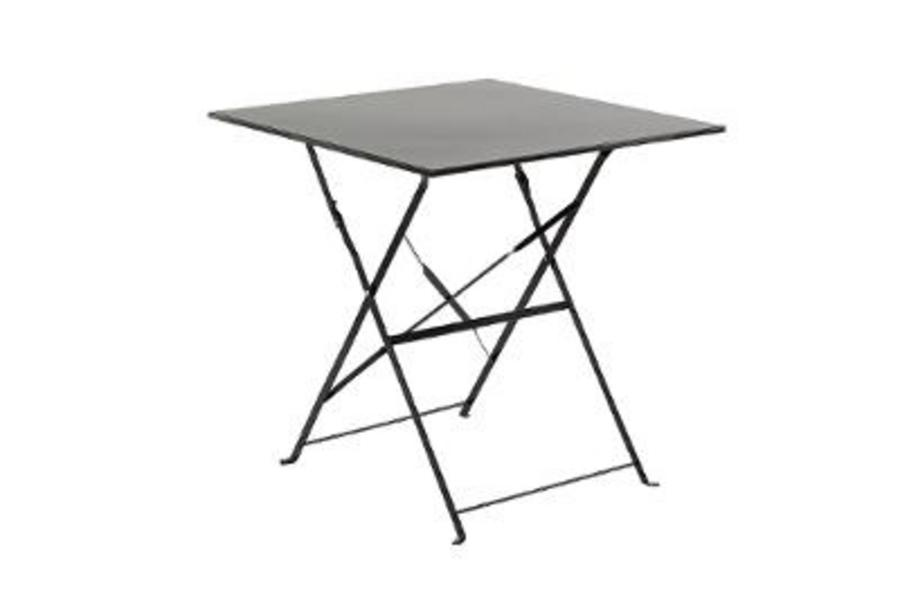 TABLE CAMARGUE CARRE NOIR