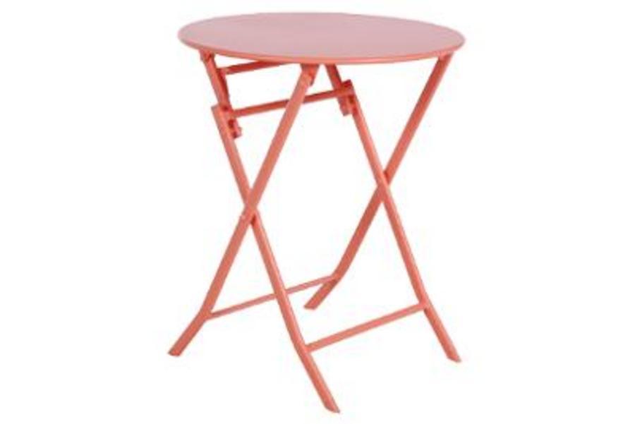 TABLE GREENSBORO RONDE CORAIL