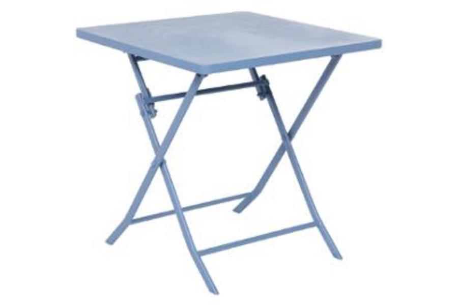 TABLE GREENSBORO CARRE BLEUET