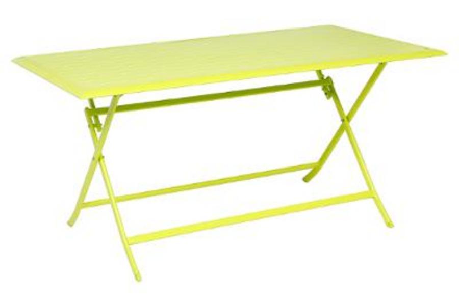 TABLE AZUA PLIANTE ALU GRANNY