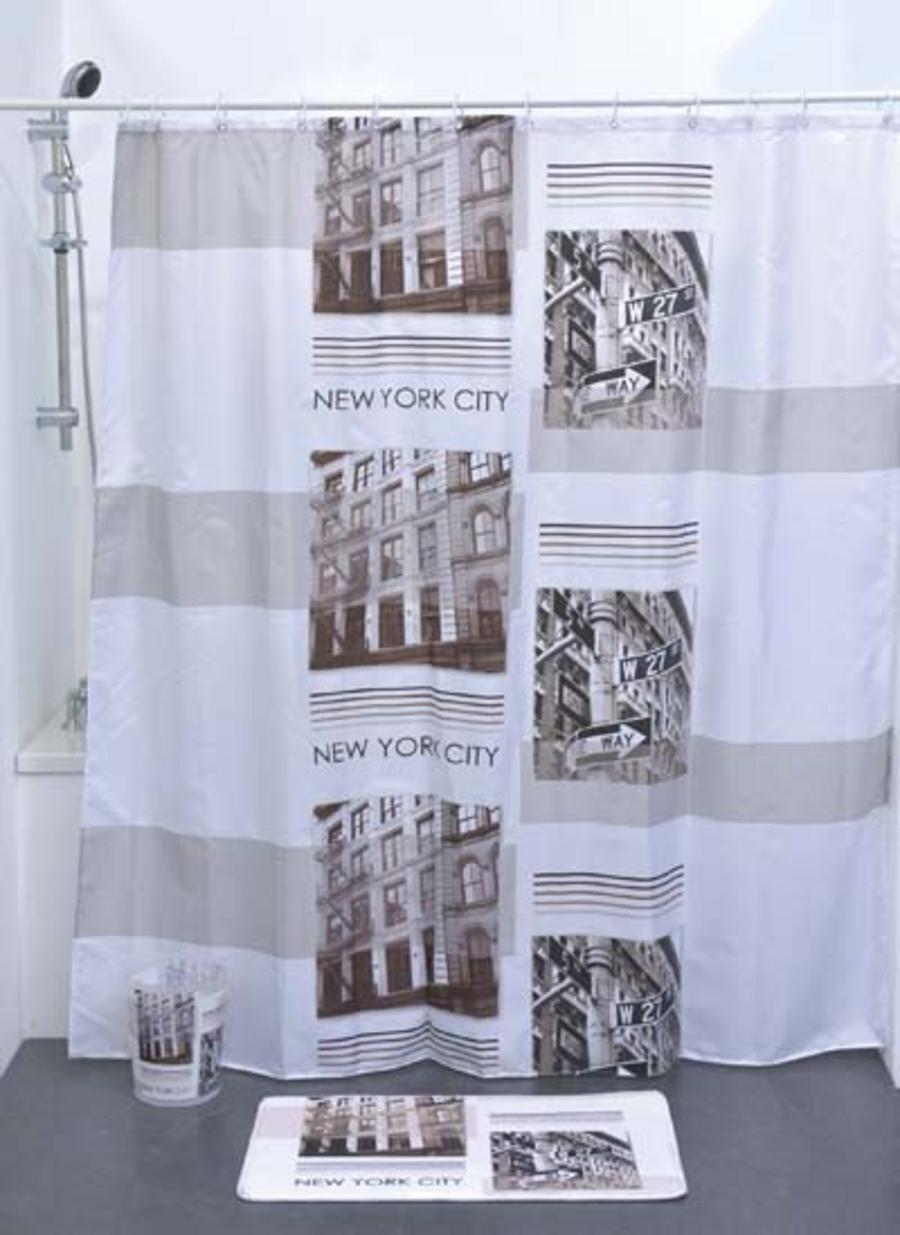 RIDEAU DE DOUCHE NEW YORK CITY