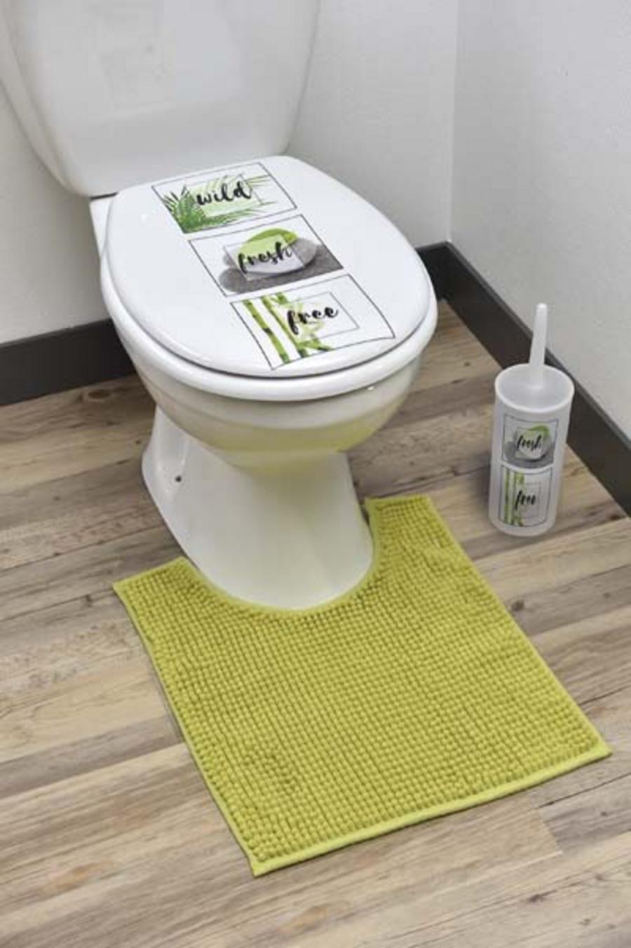 TAPIS MICROFIBRE CONTOUR WC
