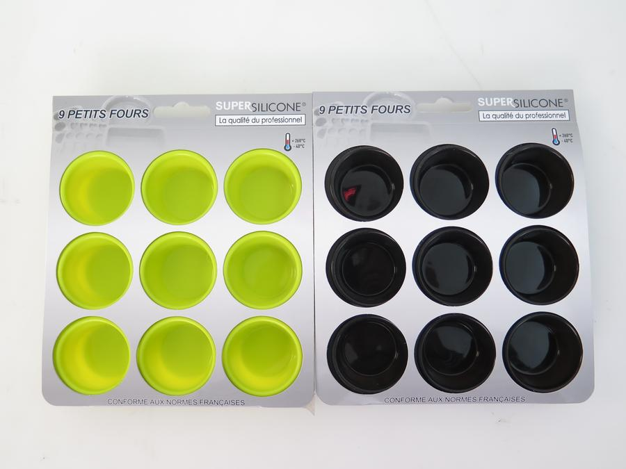 MOULE SILICONE 9 PETITS FOURS