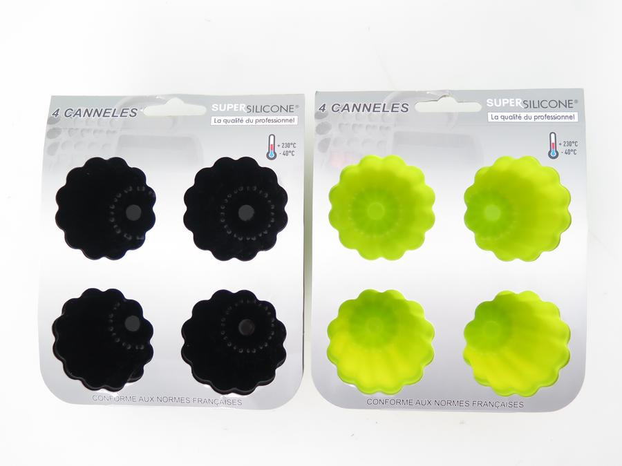 MOULE SILICONE 4CANNELES