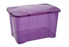COFFRE CLIP BOX 40L PRUNE