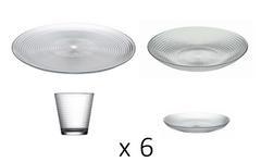SERVICE DE TABLE 24PCS