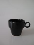 TASSE A CAFE ANNA NOIR 10CL