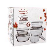 SET 5 BOLS CASSIS MENASTYL