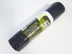 SAC POUBELLE 50L X10 NOIR