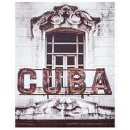 TOILE IMPRIME RETRO CUBA 38X48