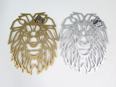 DK BOIS TETE LION ORIGAMI 29CM