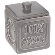 POT A COTON 100% SAVON GRIS