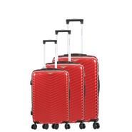 SET DE 3 VALISES ROUGE