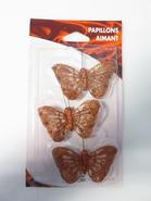 PAPILLON NYLON AIMANT PM X3