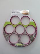 MOULE SILICONE X7 BLINIS