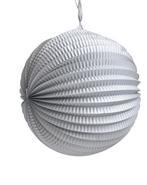 LAMPION ARGENT 30CM