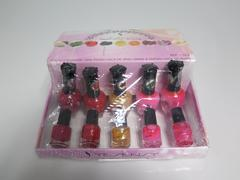 VERNIS A ONGLE ROSE/ROUGE/OR